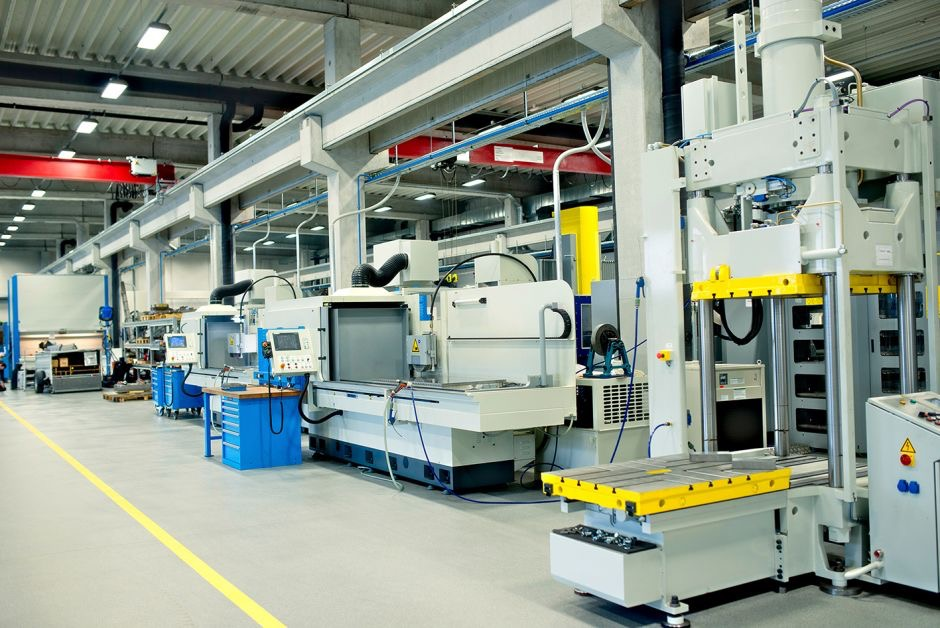 Bild industrielle Fertigung - Industrie 4.0